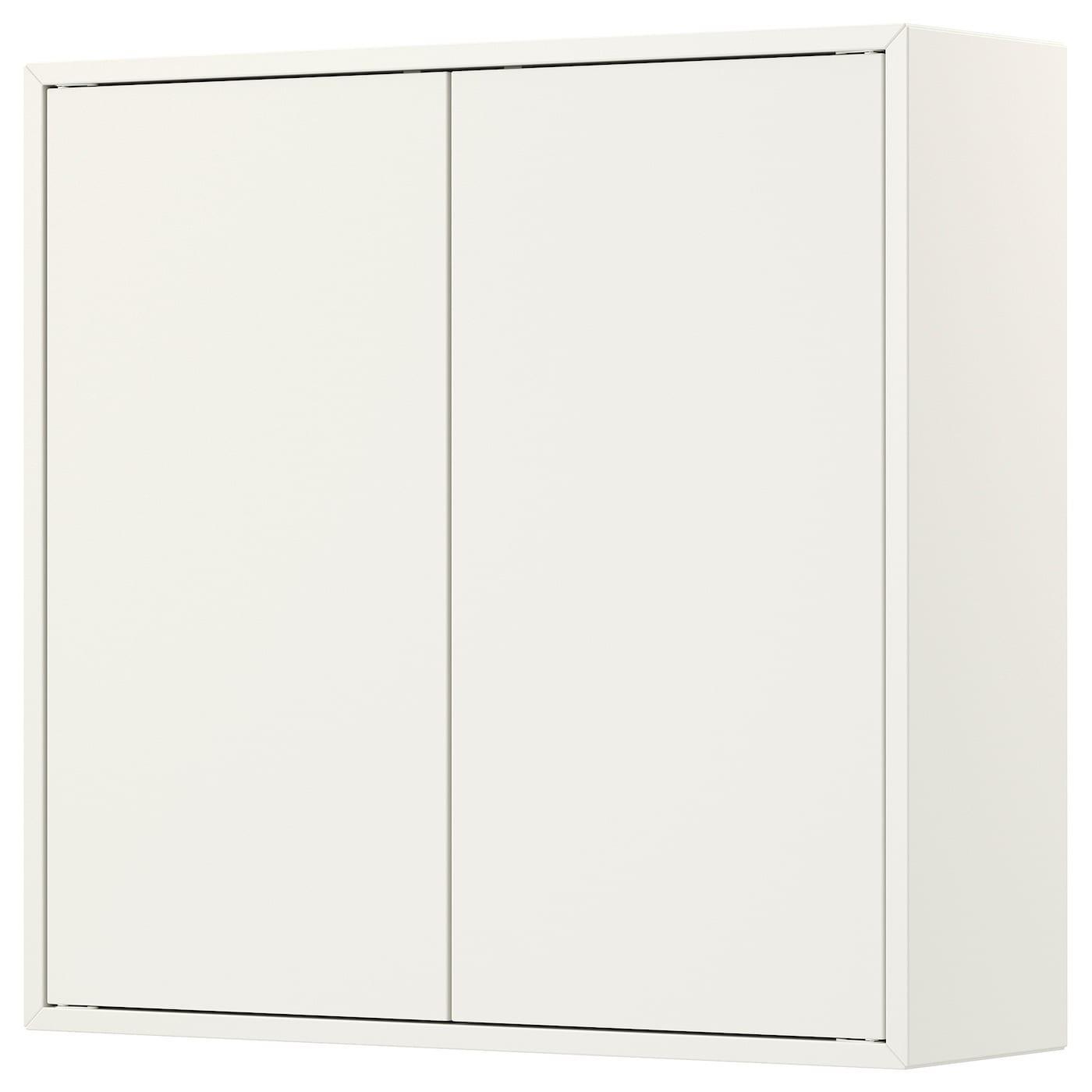 EKET Schrank mit 8 Türen + 8 Böden - weiß 8x85x8 cm