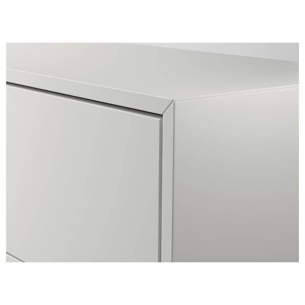 EKET Schrank mit 3 Schubladen, weiß, 70x35x70 cm