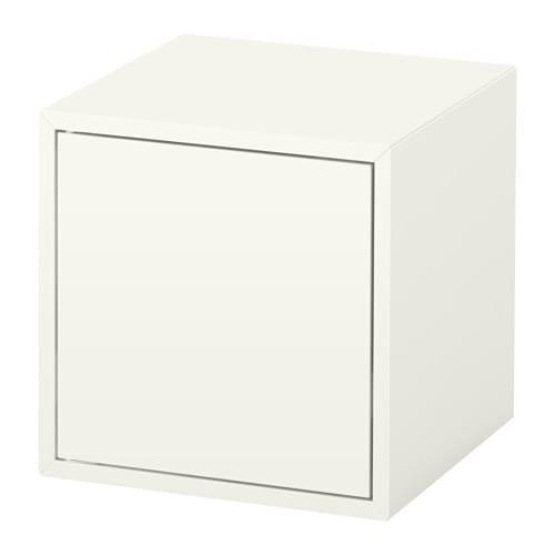 eket schrank mit t r wei ikea. Black Bedroom Furniture Sets. Home Design Ideas
