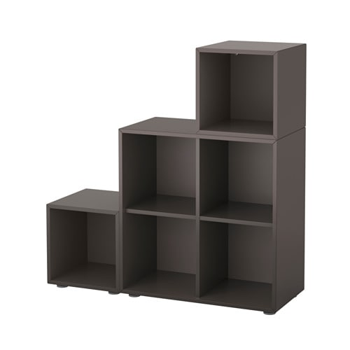 eket schrankkombination f e dunkelgrau ikea. Black Bedroom Furniture Sets. Home Design Ideas