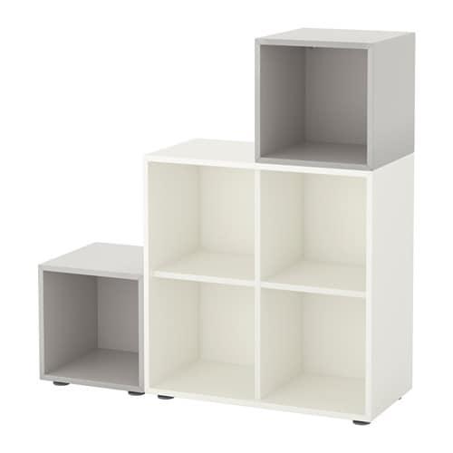 Ikea Füße eket schrankkombination füße weiß hellgrau ikea
