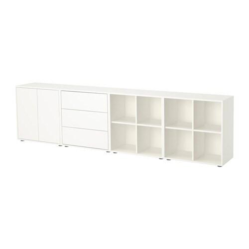 eket schrankkombination f e wei ikea. Black Bedroom Furniture Sets. Home Design Ideas