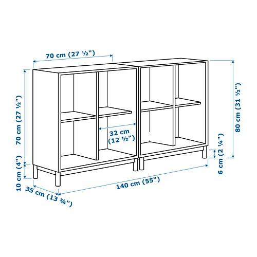 eket schrankkombination untergestell dunkelblau ikea. Black Bedroom Furniture Sets. Home Design Ideas