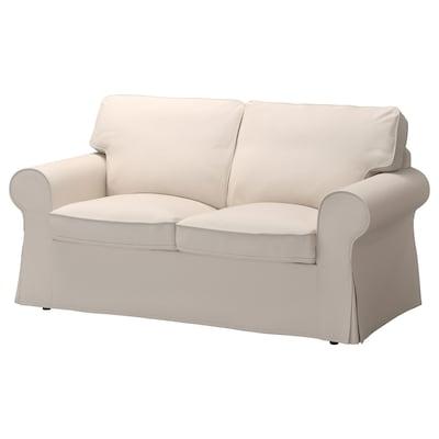 EKTORP 2er-Sofa, Lofallet beige