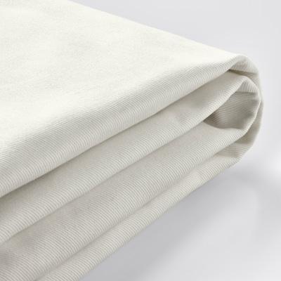 EKTORP Bezug 3er-Sofa, mit Récamiere/Blekinge weiß