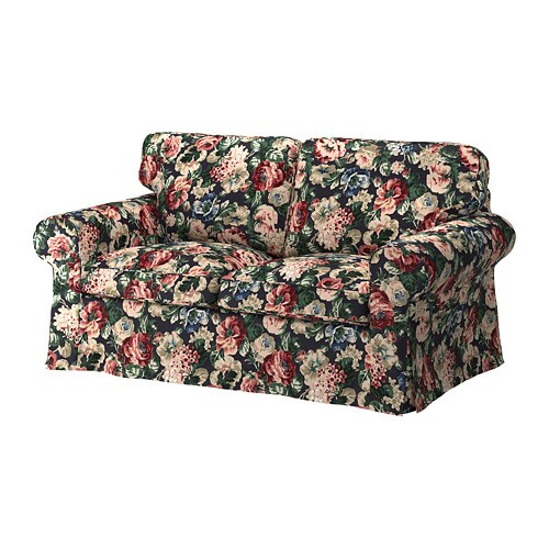 Ektorp Bezug 2er Sofa Lofallet Beige Ikea