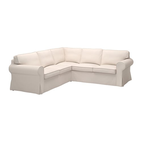 Perfekt EKTORP Bezug Für Ecksofa 4 Sitzig   Lofallet Beige   IKEA