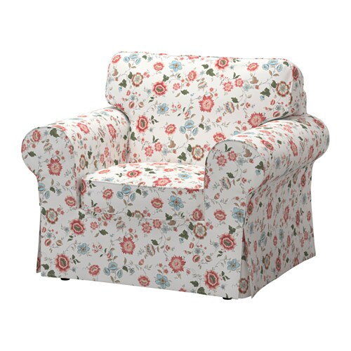 Sessel ikea bunt  EKTORP Bezug Sessel - Videslund bunt - IKEA