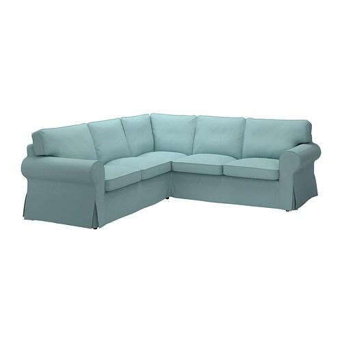 ektorp ecksofa 2 2 isefall hellt rkis ikea. Black Bedroom Furniture Sets. Home Design Ideas
