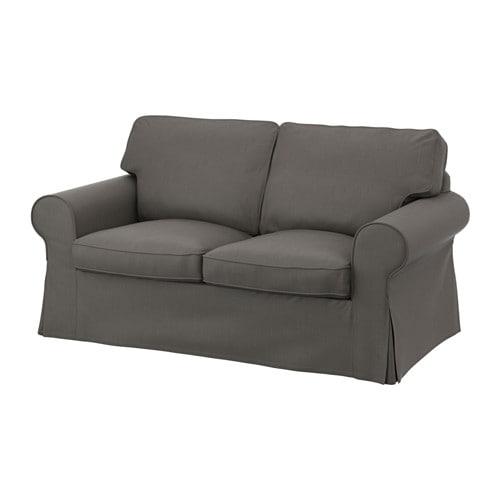 ektorp 2er sofa nordvalla grau ikea. Black Bedroom Furniture Sets. Home Design Ideas