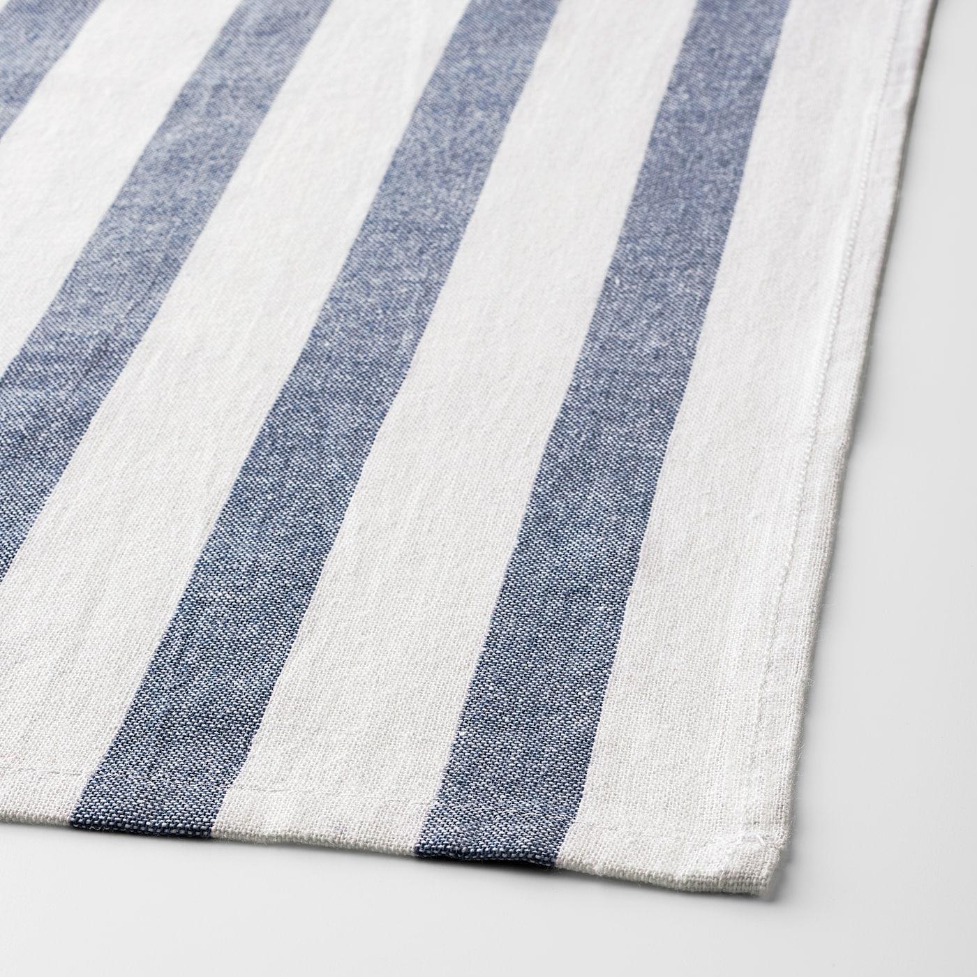 IKEA ELLY Geschirrtücher in weiß//grün; 4 Stück Küchentücher 100/% Baumwolle