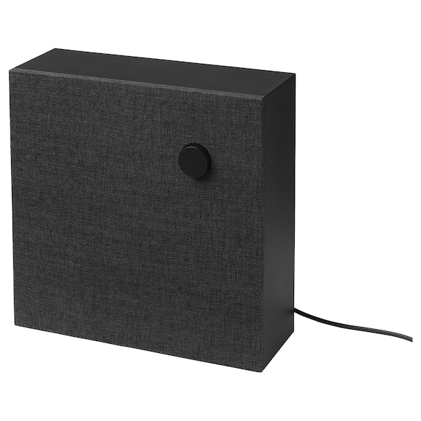 ENEBY Bluetooth-Lautsprecher, schwarz, 30x30 cm