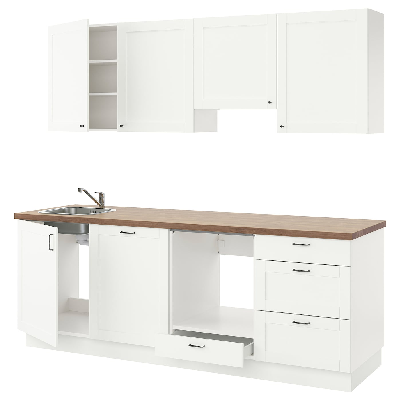 ENHET Küche - weiß Rahmen - IKEA Deutschland
