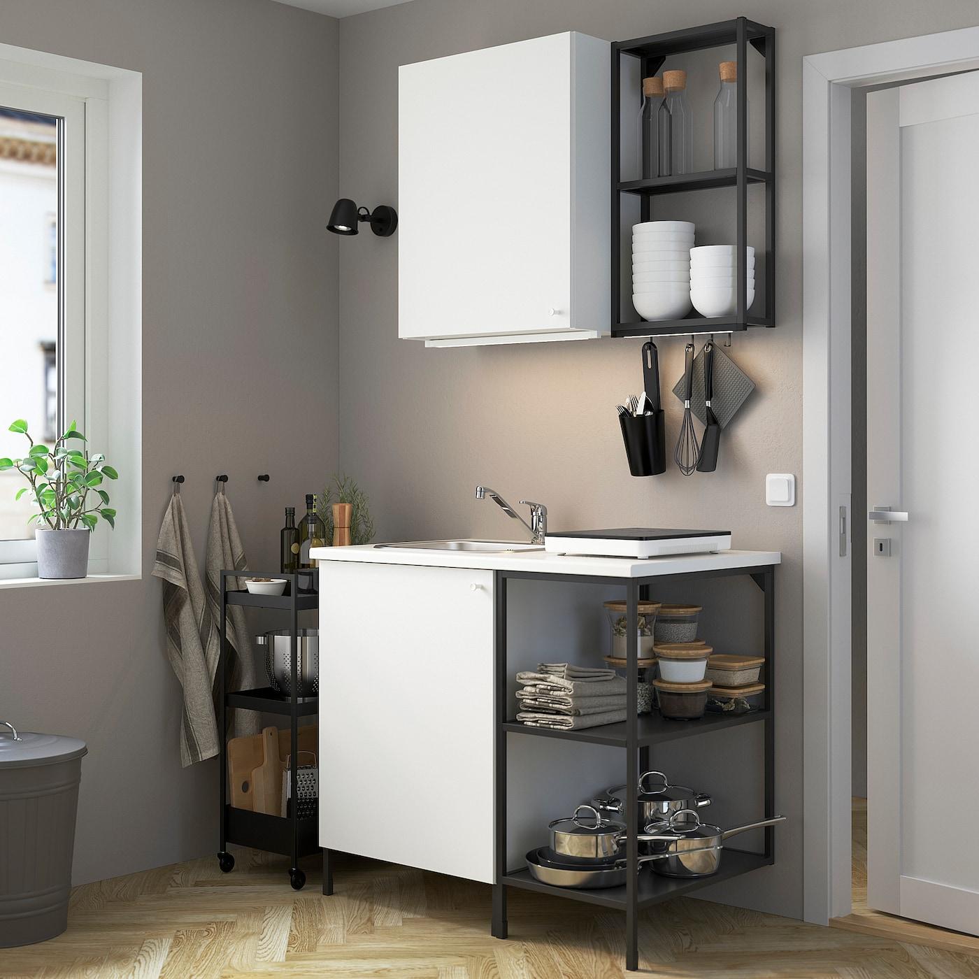 enhet küche - anthrazit/weiß - ikea deutschland