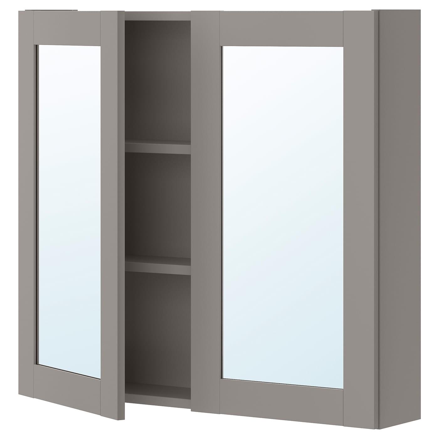ENHET Spiegelschrank 2 Türen