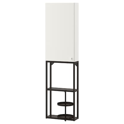 ENHET Aufbewkombi für Wand anthrazit/weiß 40 cm 15 cm 150 cm