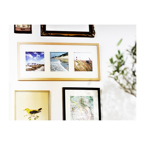 ikea erikslund xl bild mit rahmen k ste meer ostsee strand. Black Bedroom Furniture Sets. Home Design Ideas