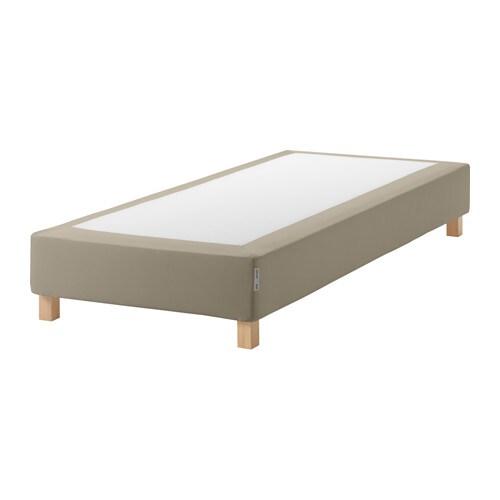 espev r boxspring mit beinen burfjord 10 cm ikea. Black Bedroom Furniture Sets. Home Design Ideas