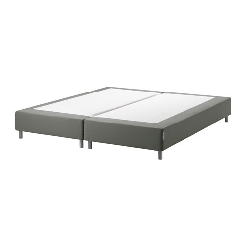 espev r boxspring mit beinen 180x200 cm bjorli 10 cm ikea. Black Bedroom Furniture Sets. Home Design Ideas