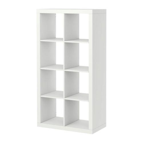 EXPEDIT Regal weiß Breite: 79 cm Tiefe: 39 cm Höhe: 149 cm max. Belastung/Regalboden: 13 kg