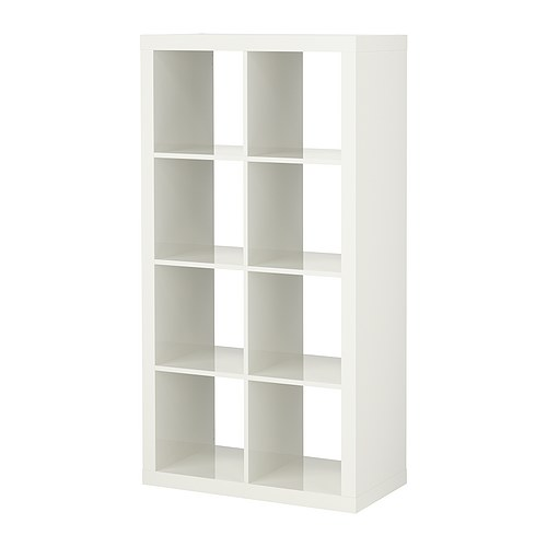 IKEA EXPEDIT Regal - Hochglanz weiß 0,00% günstiger bei koettbilligar.de