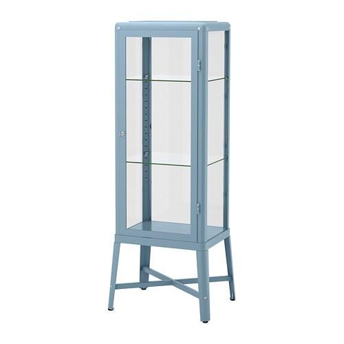 fabrik r vitrine blau ikea. Black Bedroom Furniture Sets. Home Design Ideas