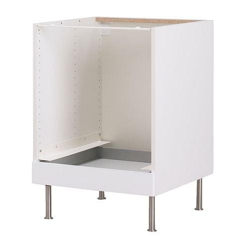 ikea faktum unterschrank f r backofen abstrakt wei 0 00 g nstiger bei. Black Bedroom Furniture Sets. Home Design Ideas