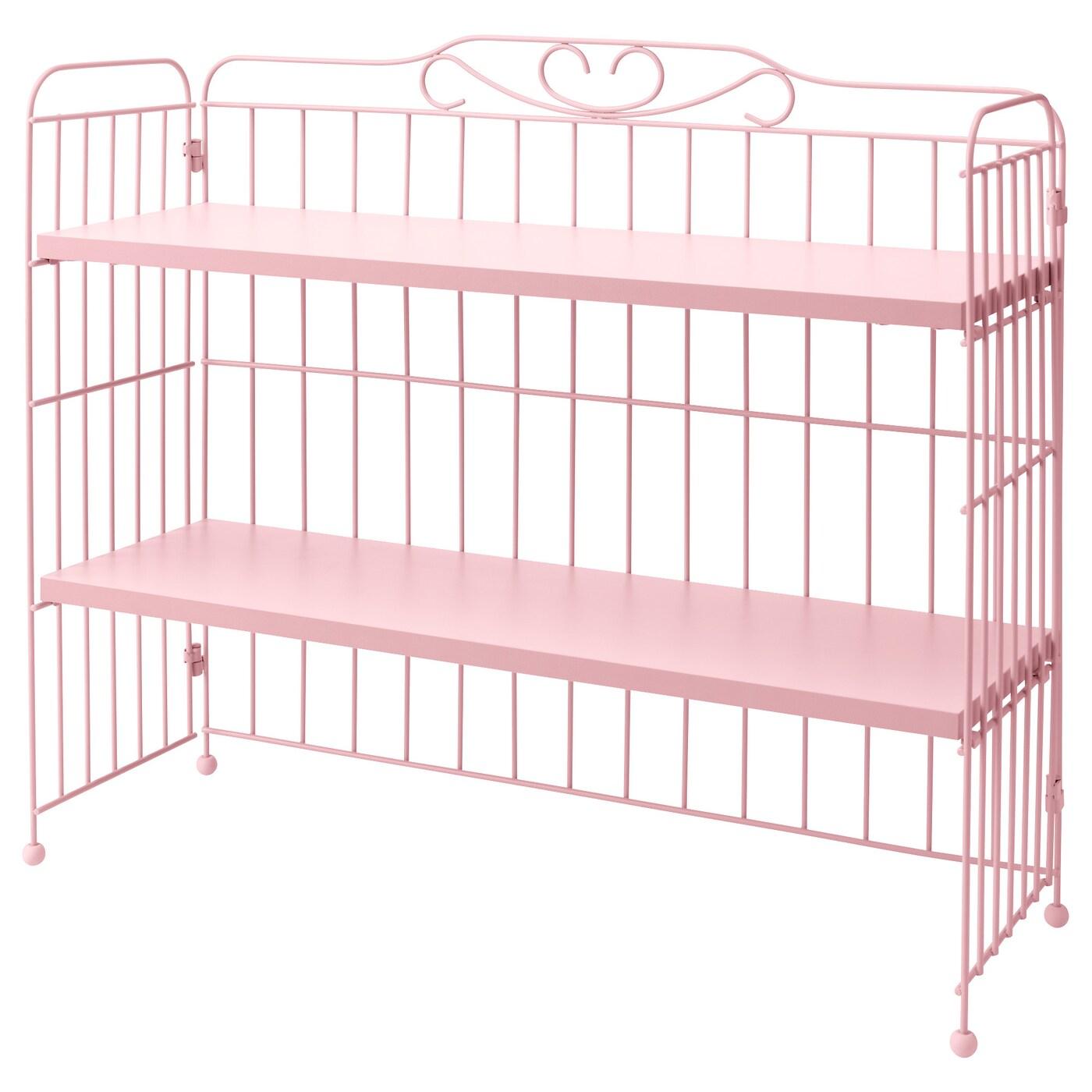 Ikea Kinderzimmer Doppelbett ~ FALKHÖJDEN, Schreibtischaufsatz, rosa