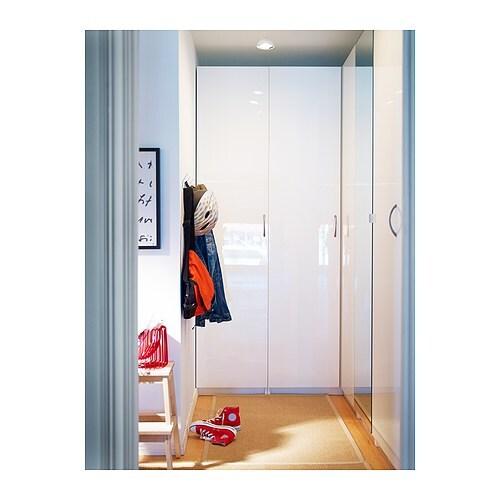 Ikea pax weiß hochglanz  FARDAL Tür mit Scharnier - 50x229 cm, Scharnier - IKEA