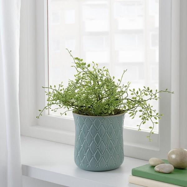FEJKA Topfpflanze, künstlich drinnen/draußen Mühlenbeckia 12 cm 31 cm
