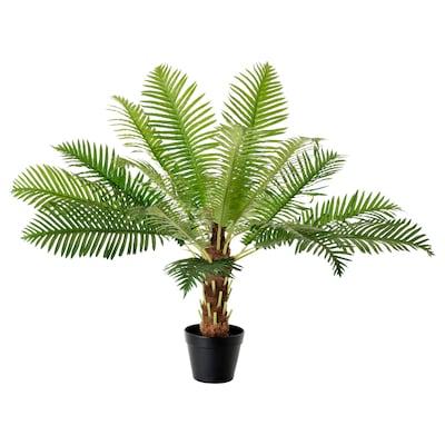 FEJKA Topfpflanze, künstlich, drinnen/draußen Friedenspalme, 17 cm