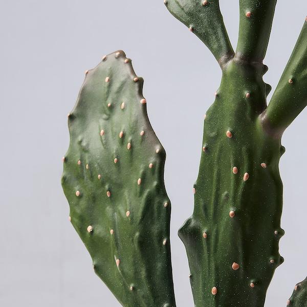 FEJKA Topfpflanze, künstlich, drinnen/draußen Kaktus, 15x77 cm