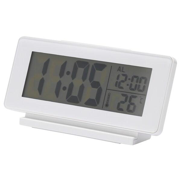 FILMIS Uhr/Thermometer/Wecker, weiß
