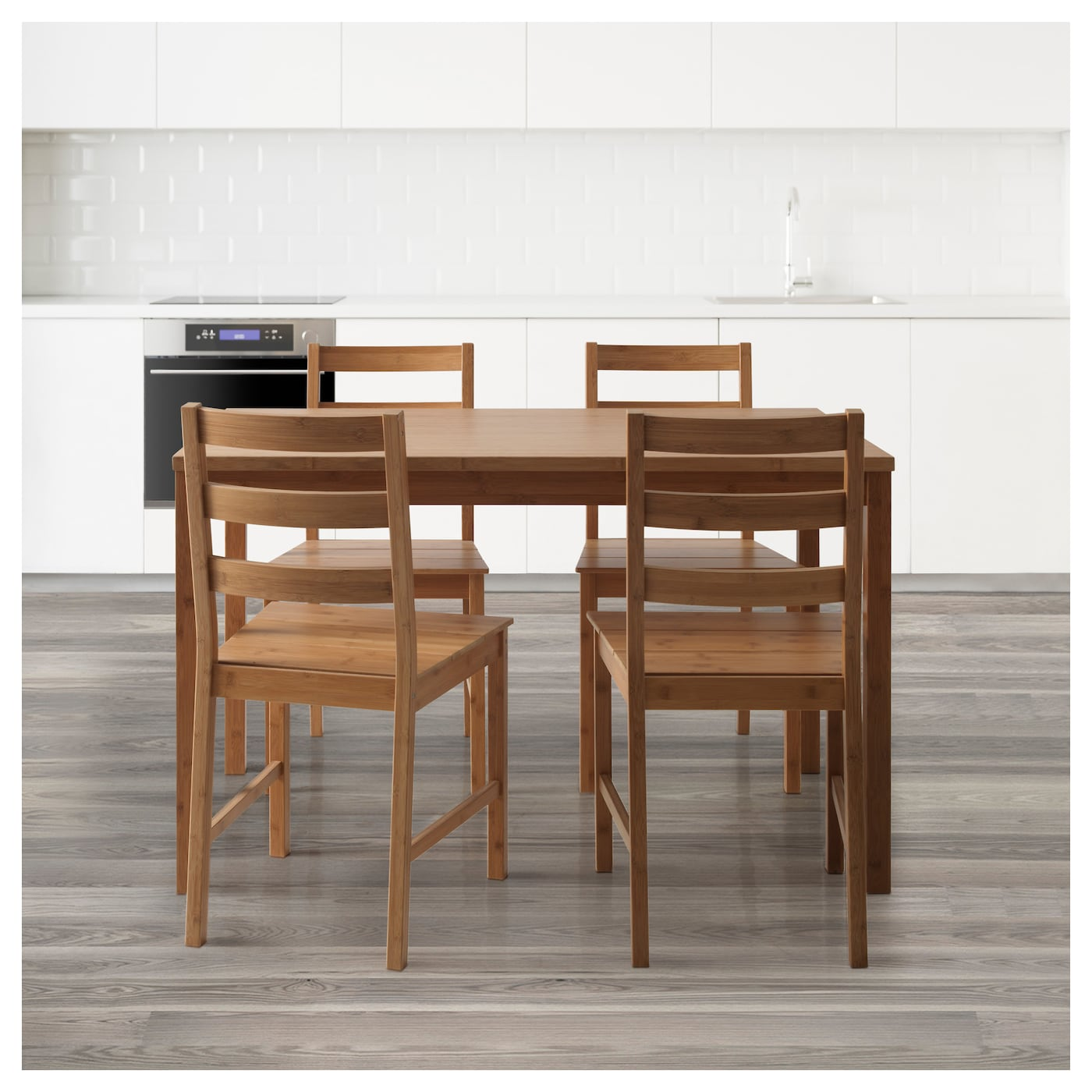 FINEDE Tisch und 4 Stühle Bambus IKEA Deutschland