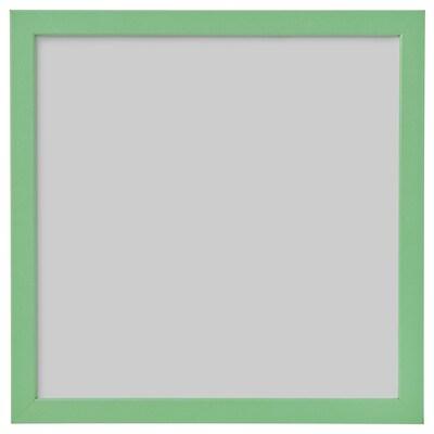 FISKBO Rahmen, hellgrün, 30x30 cm