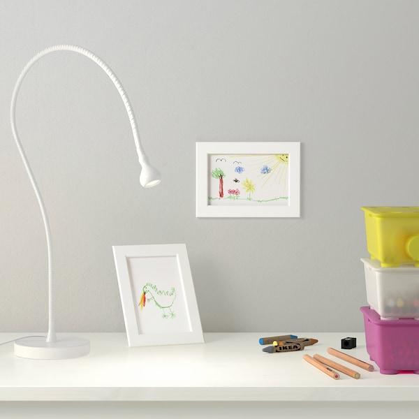 FISKBO Rahmen, weiß, 10x15 cm