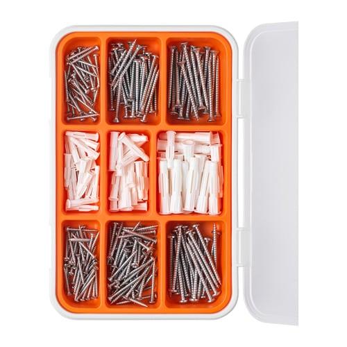Fixa Schrauben Und Dubel Set 260 Teile Ikea