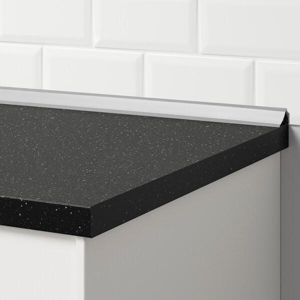 FIXA Wandabschlußleiste grau 250 cm 2.5 cm 2.5 cm