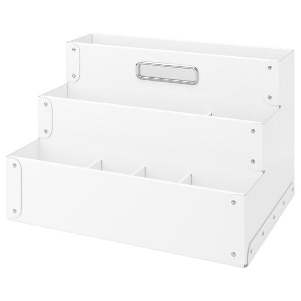 FJÄLLA Schreibutensilienfach, weiß, 35x21 cm