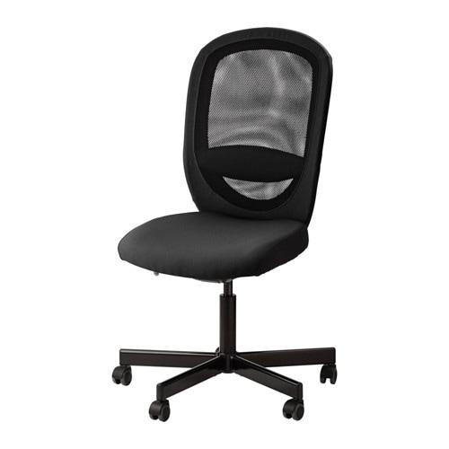 Schreibtischstuhl ikea  FLINTAN Drehstuhl - Vissle schwarz - IKEA