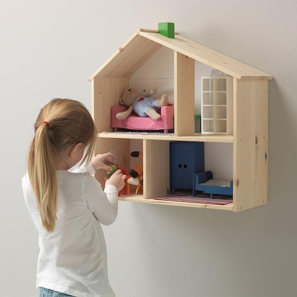 FLISAT Puppenhaus/Wandregal