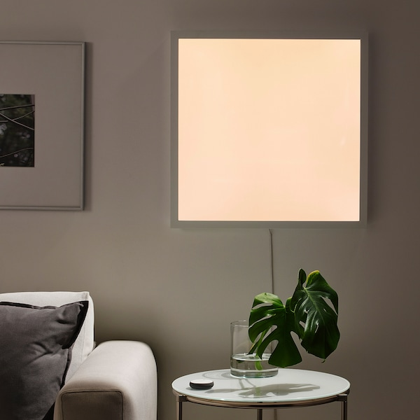 FLOALT LED-Lichtpaneel, dimmbar/Weißspektrum, 60x60 cm
