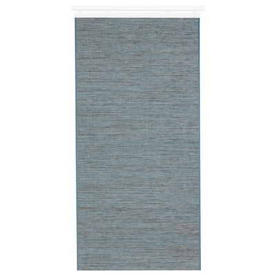FÖNSTERVIVA Schiebegardine blau/grau 300 cm 60 cm 0.50 kg 1.80 m² 1 Stück