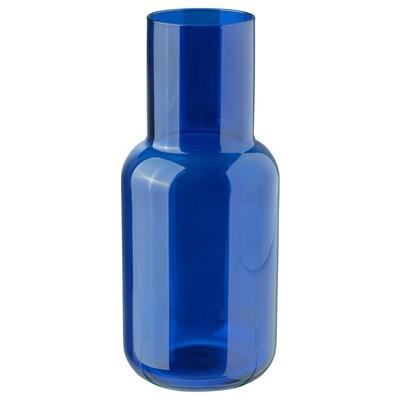 FÖRENLIG Vase, blau, 21 cm