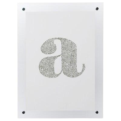 FORNBRO Rahmen, transparent, 21x30 cm