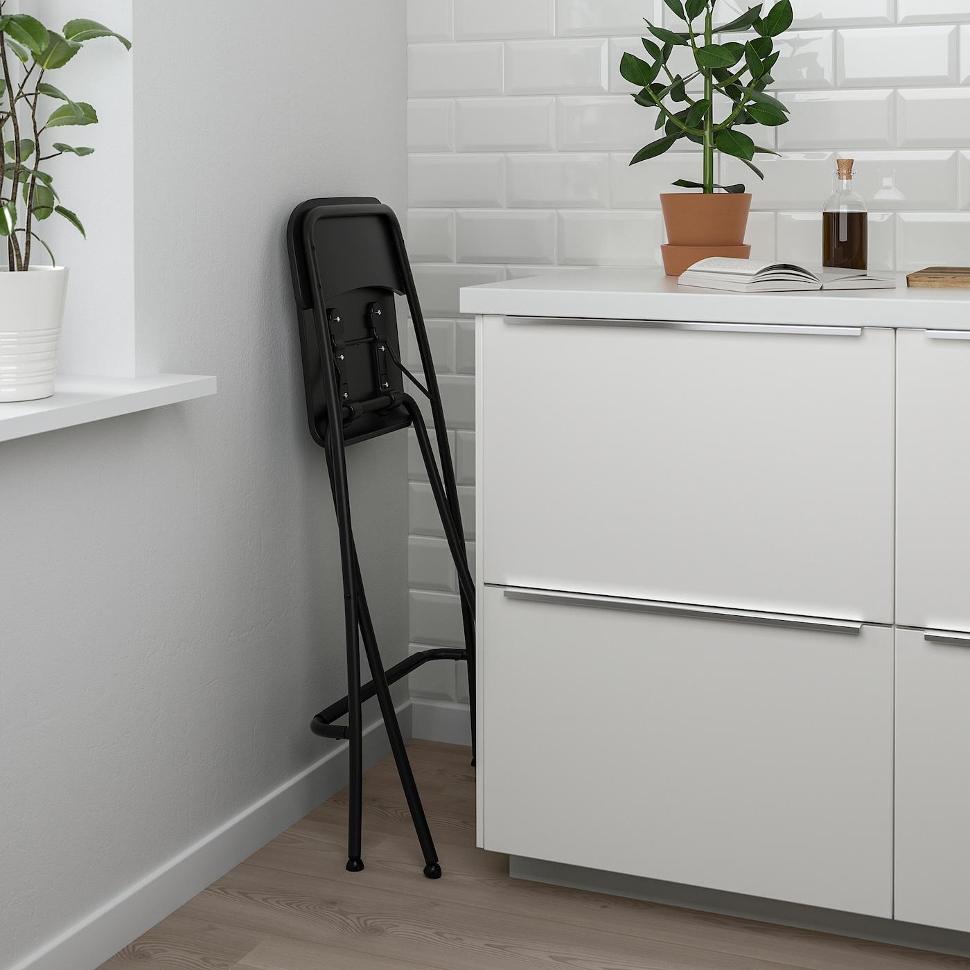 Franklin Barhocker Zusammenklappbar Schwarz Schwarz Alle Details Findest Du Hier Ikea Deutschland