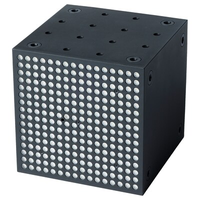 FREKVENS Multibeleuchtung, LED schwarz 1 Stück 10 cm 10 cm 10 cm