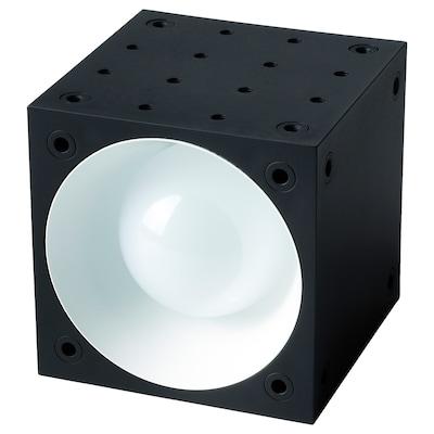 FREKVENS Spot, LED schwarz/weiß 36 W 385 lm 10 cm 10 cm 10 cm 6 cm 2.5 m 6 W 1 Stück