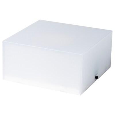 FREKVENS Lautsprecherplatte beleuchtet weiß 10 cm 10 cm 5 cm