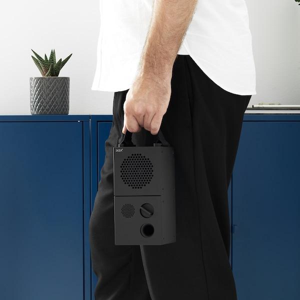 FREKVENS Lautsprecher schwarz/gelb 20 cm 10 cm 10 cm